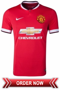 Manchester United 2014-15 Home Kit